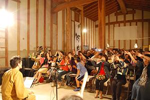 「石田蔵(黒部市石田)」にて、楽家出演&プロデュース公演「くらいぶ第一巻」開催