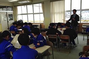 滑川市立東部小学校にて6年生を対象に「邦楽体験教室」開催