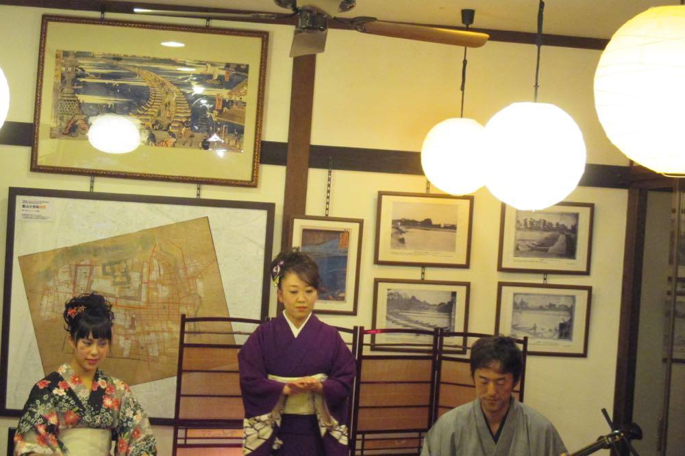松川茶屋で週末定例ライブ