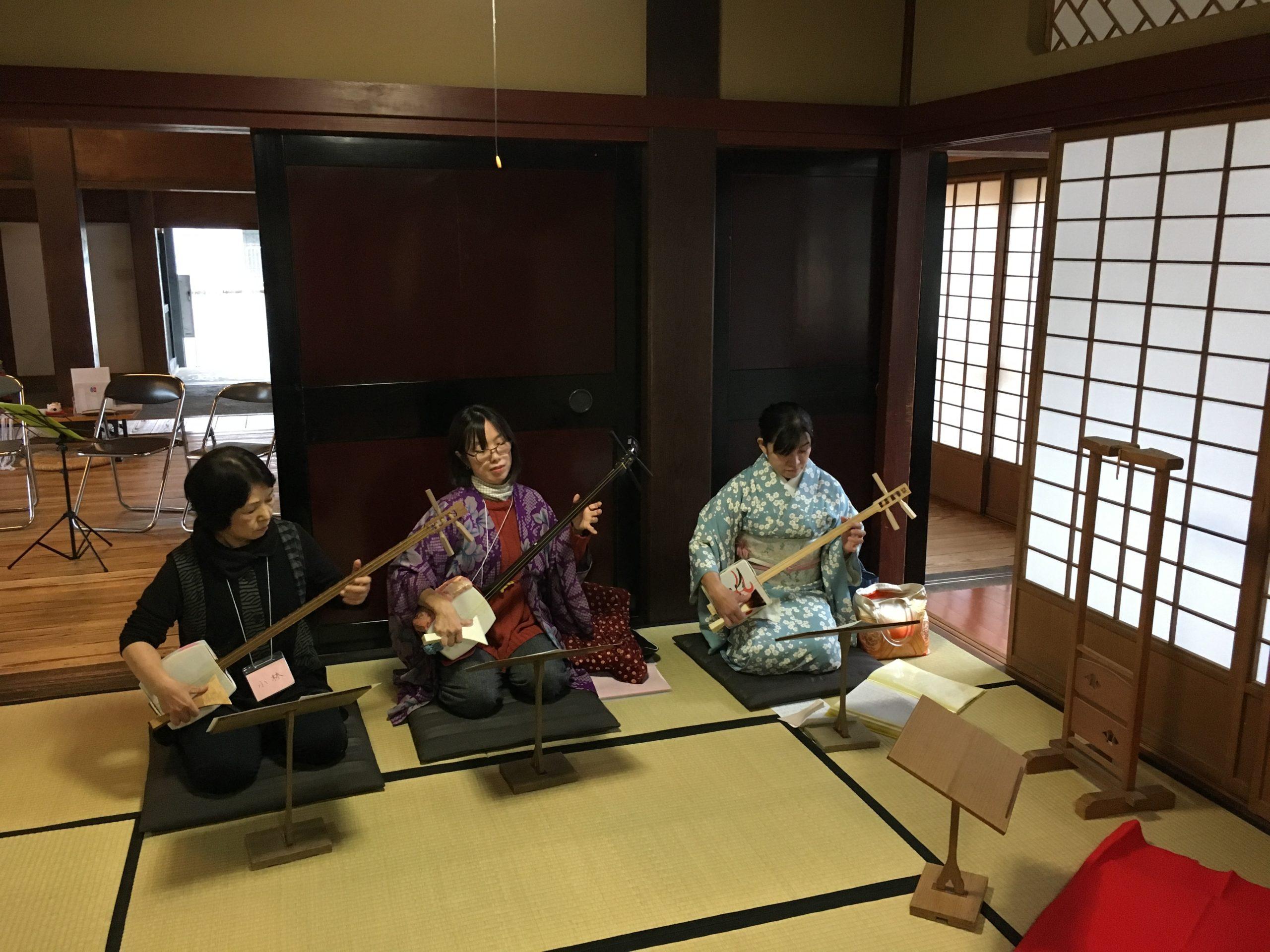 SHABO金澤が参加型三味線イベント開催
